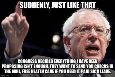 Bernie Sanders… moderate?