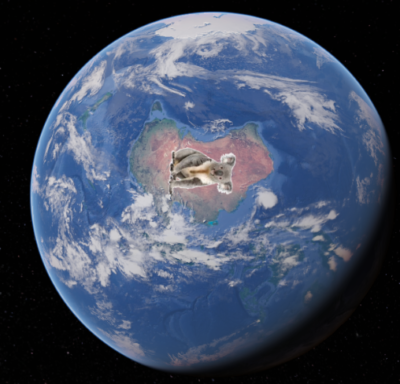 A new leaked photo from Nasa reveals an actual photo of Australia taken from the ISS.
