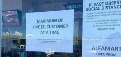 int five = 3;