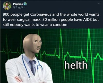 Please wear protection