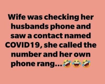 🤣🤣🤣 wiFe=cOviD 🤣🤣🤣