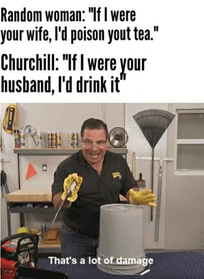A lot of damage