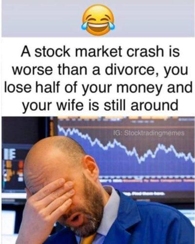 stock market bad wife bad