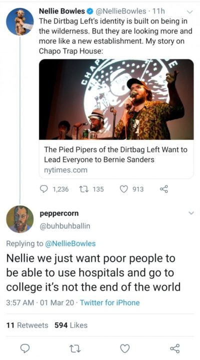 Calm down Nellie