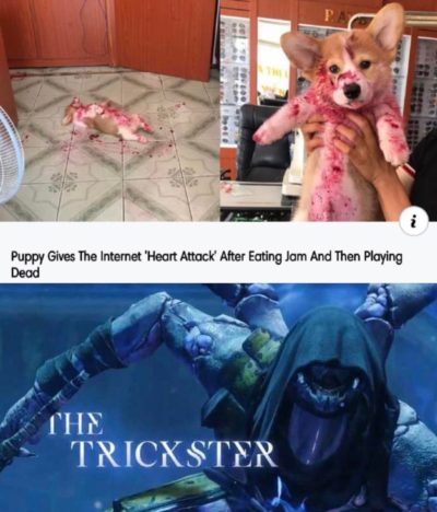 why the trickster thing?