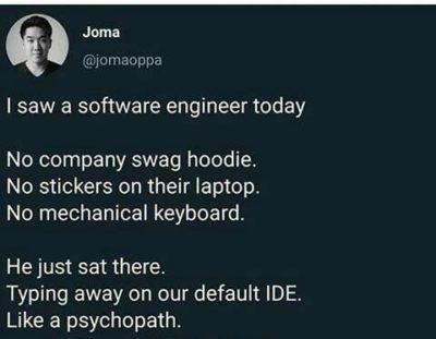 A pure psychopath