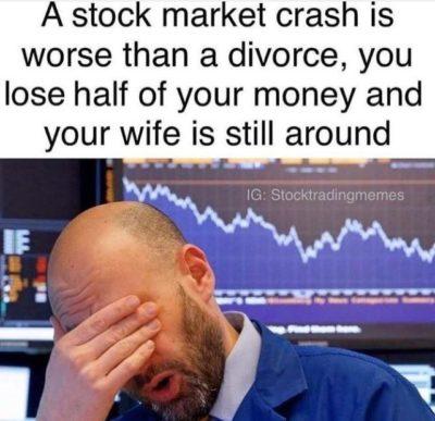 stock market good wife bad