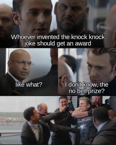 A knock knock joke (sorta)