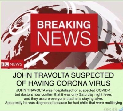 Coronavirus is a goldmine