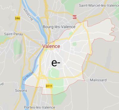 A valence electron.