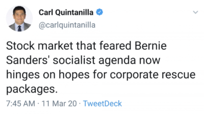 Everyone knows it's not socialism if you're subsidizing people who own for a living.