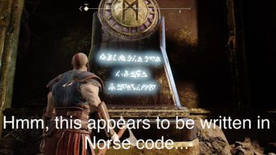 I've been playing God Of War while on lockdown