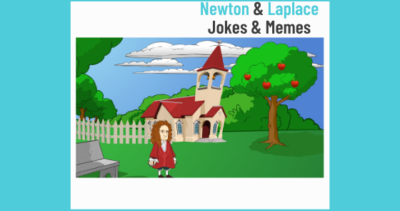 Newton and Laplace (Laplace Correction) Memes and Jokes.