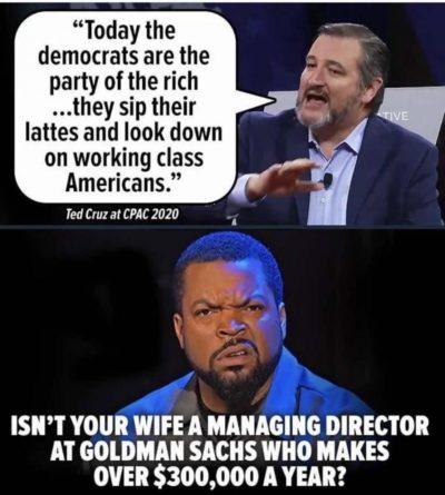 Hypocrites.