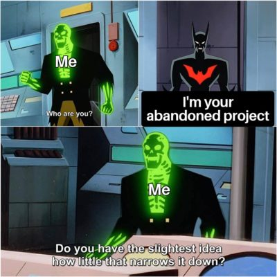 My side-project experience