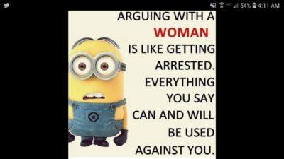 Woman bad