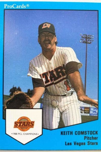 Funniest baseball card ever.