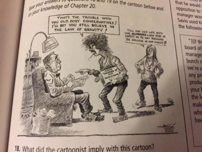 An old boomer comic I found in my history textbook