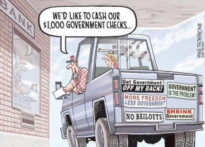 The Welfare Hypocrite
