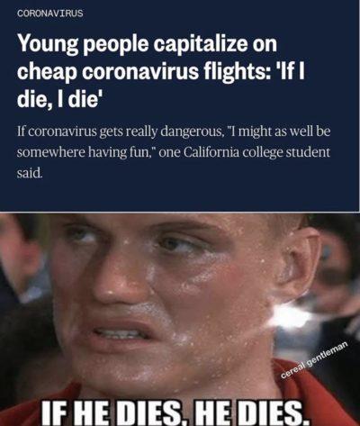 IF HE DIES, HE DIES.