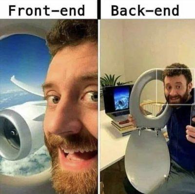 Front End, Back End