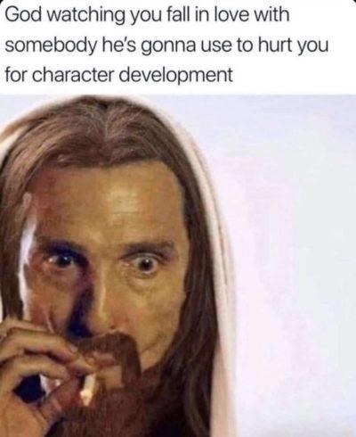 Why, God? Why?!