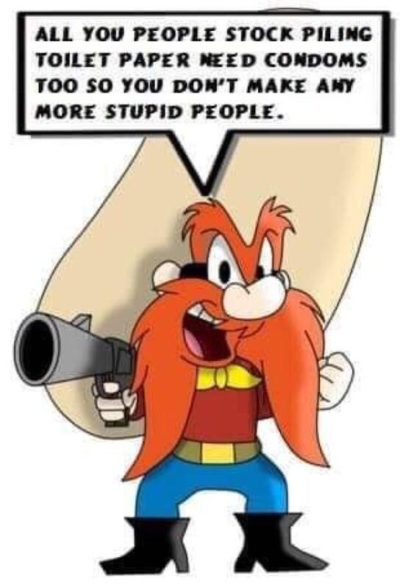 I don't remember Yosemite Sam saying anything like this…