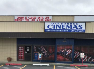 Cinema is closed until life doesn't feel like a bad movie
