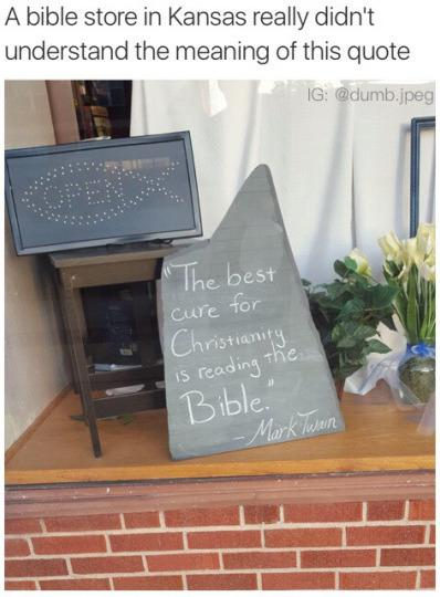 There was an attempt to promote christianity