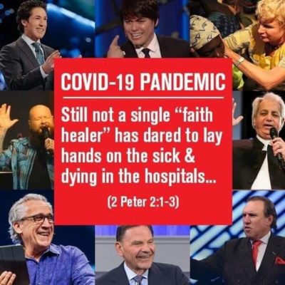 Why don't they help heal the sick COVID-19 patients?