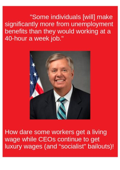 Senator Lindsey Graham is outraged