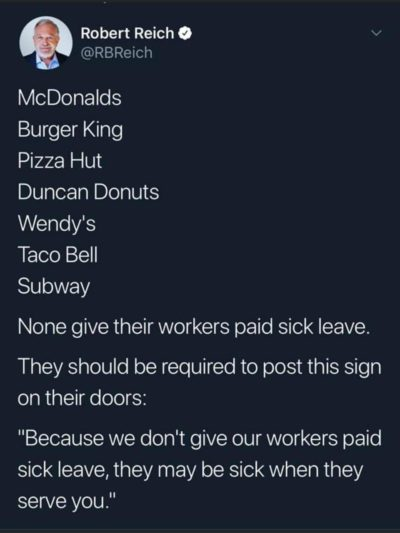 These fast food places need more signs