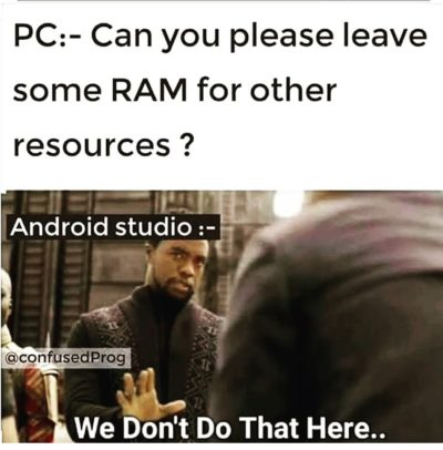 Can you please leave some RAM for other resources