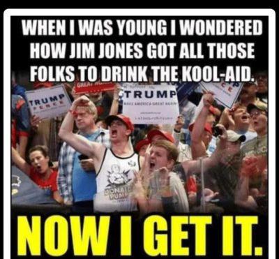 Drink the kool aid