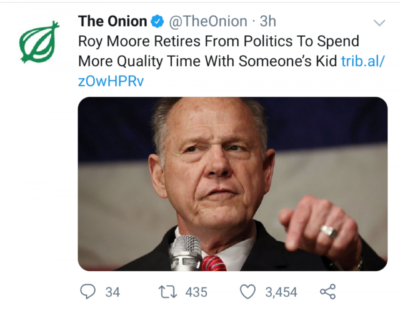 The Onion is a Savage.