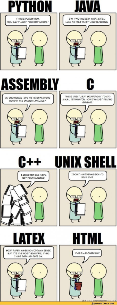 Programming Languages in a Nutshell