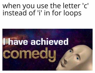 for(int c = 0; c < arr.length; c++)