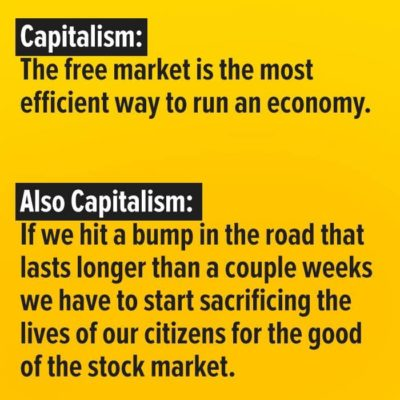 Two sides of capitalism