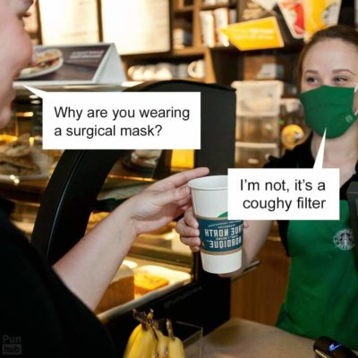 No reusable cups either.