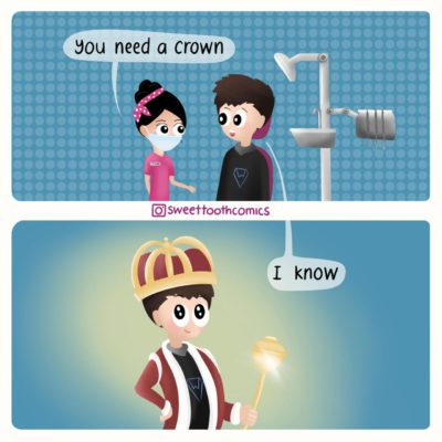 You need a crown [OC]