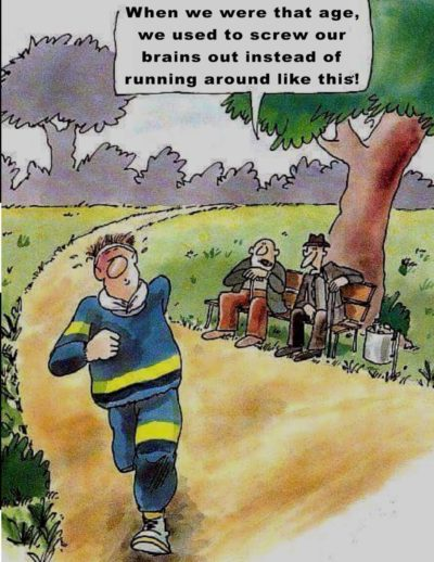 Running bad
