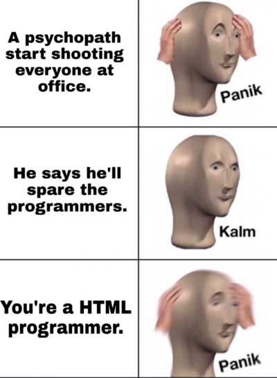 Use HTML debugger.