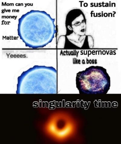 Singularity Time