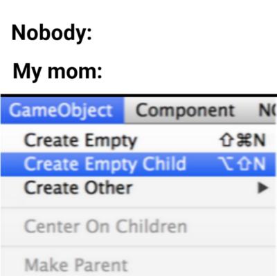 I am empty