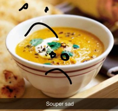 This picture is souper sad