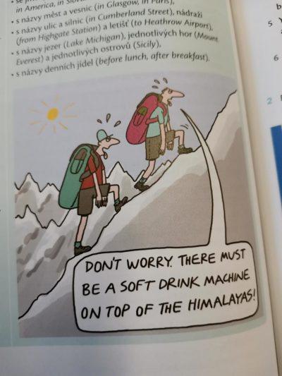 Bad comic in my English workbook.