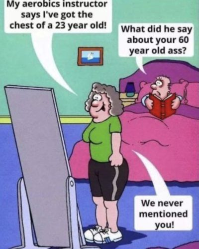 For the sake of equality, a husband=bad 'joke'