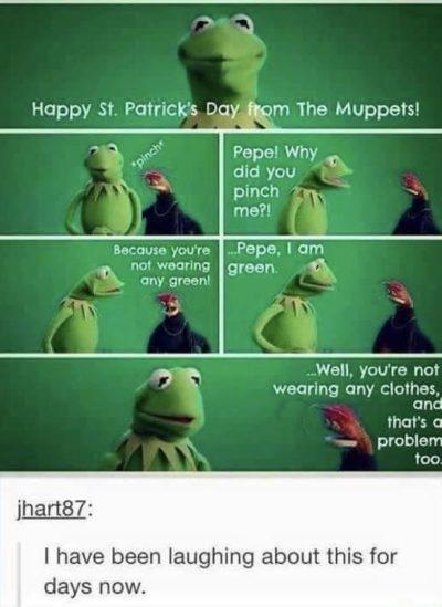 Kermit getting philosophical