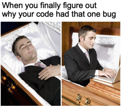 I'll go when my code passes all the test cases