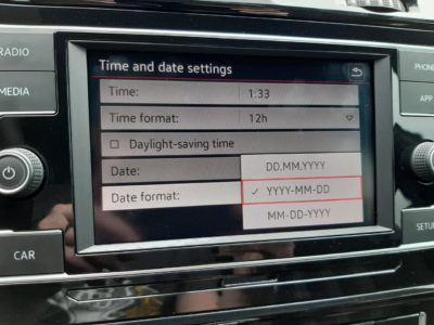 My new car supports the one true date format